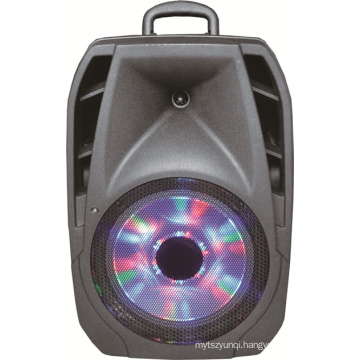 Single 10 Inch Active Portable Amplified Speaker with Trolley Music Player F24D