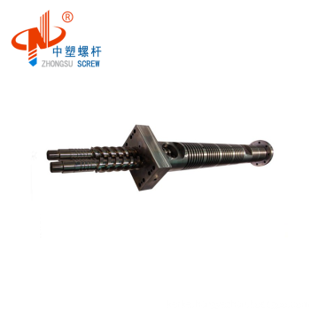 Personalized conical twin screw barrel for window profile from China
