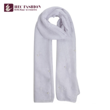 HEC Factory Chine pas cher Big Siz Multicolore Uni Polyester Lady Écharpe