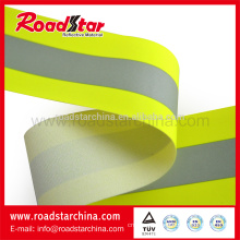 Pure Aramid material reflective flame retardant tape