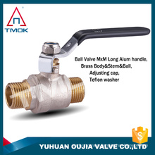 "3/4"" 2pc brass ball valve polished bronze ball valve tmok"