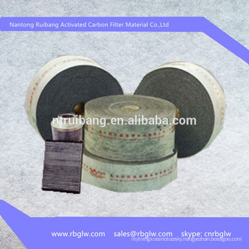 manufacturing activated carbon polyester filter cloth