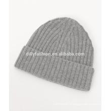 Женская шерсть кашемир утолщение теплый вязаная шапка