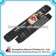 eye lash custom cosmetic box printing