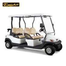 EXCAR 4 assento carrinho de golfe elétrico da China carro de buggy de golfe elétrico