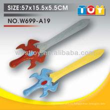 Продвижение игрушки новый дизайн меч tpr игрушка оружие