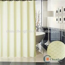 Hotsale design double rideaux de douche jacquard de luxe