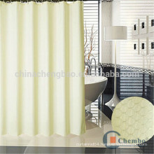 Hotsale design luxury double side jacquard shower curtains