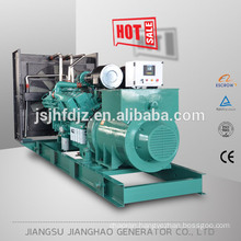 Big power diesel genrator set with soundproof enclosure