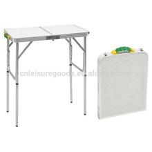 Открытый алюминиевый складной садовый столик для пикников