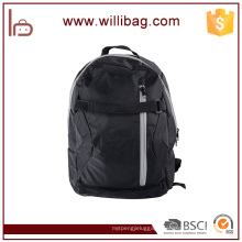 Black Camping Hiking Backpack China Nylon Sport Backpack Bag