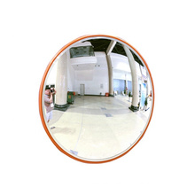 45cm Road Traffic Custom Stand Safety PMMA Convex Mirror, Wholesale Cycling Clothes Speed Bike Standing Mirror/