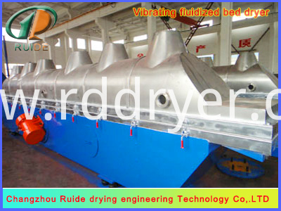 Food Salt Fluid Bed Dryer
