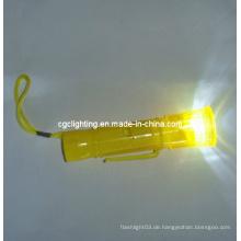 Plastik LED Schlüsselkette Taschenlampe (KC-36)