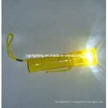 Lampe torche en plastique LED Key Chain (KC-36)