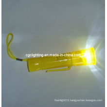 Plastic LED Key Chain Flashlight (KC-36)