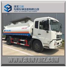 10000L Dongfeng Kingrun Cummins 180HP motor de reabastecimiento de combustible camión cisterna