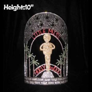 Coronas de 10 pulgadas de altura del concurso de estrellas de Hollywood Music