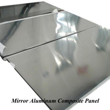 Silver Quality Mirror Aluminum Composite Panel