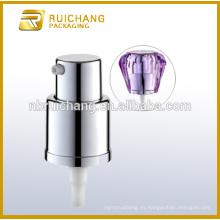 Bomba de crema cosmética de 18mm con sobrecapa de diamante