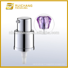 Pompe à crème cosmétique de 18 mm avec surcapsule de diamant