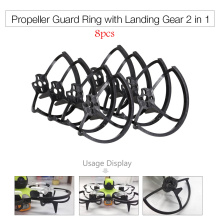 Propeller Guard Ring Protector with Landing Gear 2 in 1