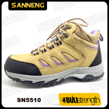 Sport Style Ankle Safety Shoe with Genuine Leather (SN5510)