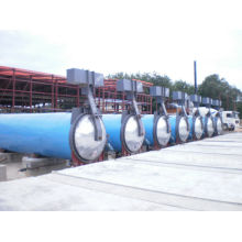 Saturated Steam Aac Autoclave Machine For Sand Lime Φ2.5m