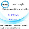 Shantou Port LCL Consolidation To Sihanoukville