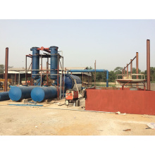 environmental continuous rubber pyrolysis machine to oil