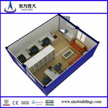 Recipiente de escritório, casa de contentores para dormitório
