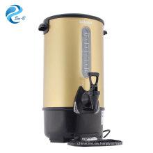 Caldera comercial de color opcional de alta calidad más nueva, caldera de agua eléctrica de 8-35 litros con sensor de nivel