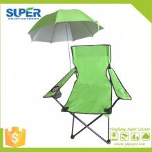 Chaise de plage pliante pas cher avec parasol (SP-115A)