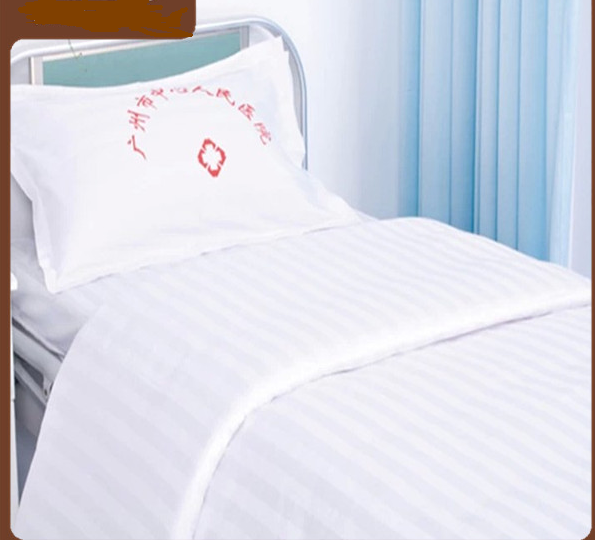 White Hospital Bed Sheet