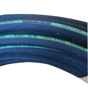 Стандарт SAE/DIN и высокого давления спираль и оплетка гидравлический производители труб