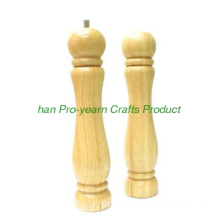High quality wooden pepper mill