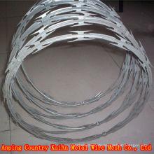 BTO / CBT --- 60/65 PVC beschichtet Rasiermesser Draht / verzinkt Rasiermesser Draht ---- 30 Jahre Fabrik