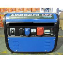 HH2800-B04 220V, 380V Трехфазный бензиновый генератор Bule
