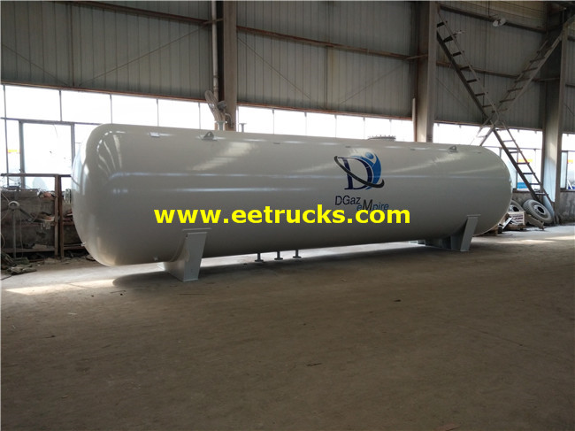 Horizontal 20ton Propane Storage Tanks