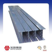 Precio de fábrica laminado en caliente forma h h acero de tamaño de haz hecho en China