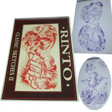 Professionelles Tattoo Buch