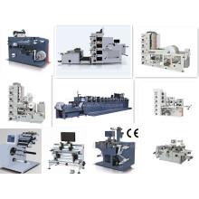 Máquina cortando automática para máquina de impressão flexográfica