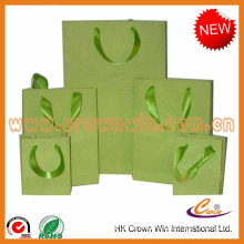 ribbon handle paper bag