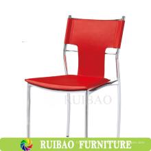 Silla de comedor de cuero de silla de precio bajo moderno y muebles comerciales de restaurante