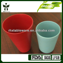 Tazas de bambú biodegradables