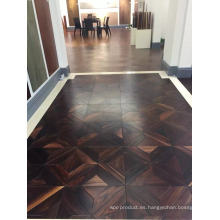 Pisos de parquet Indonesia Rosewood para The Showroom