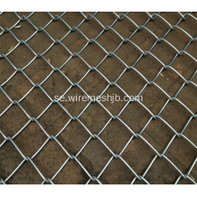 1 '' Mesh Hot Dipped Galvaniserad Chain Link Fence