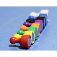 Atacado colorido cartão magnético adesivo magnético