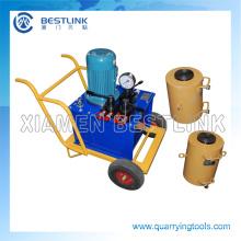 Piedra de buena calidad hidráulico toma la máquina para la extracción