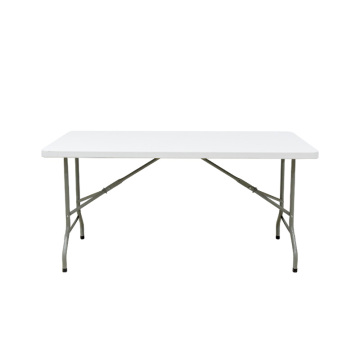 Lightweight Plastic Folding Outdoor Furniture Dining Table